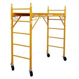 home depot scaffolding fortress 6 ft x 6 ft x 29 in rolling drywall scaffold