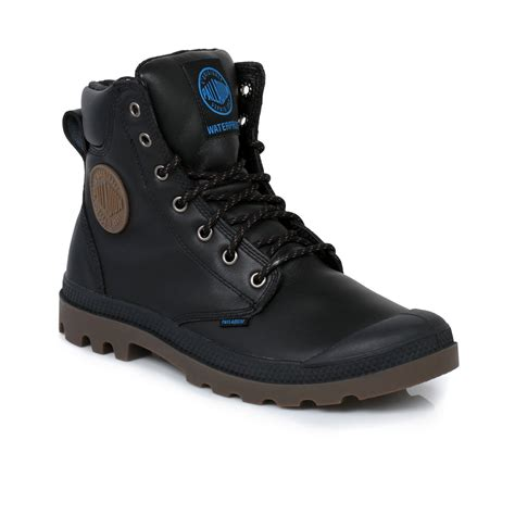 palladium black waterproof sport cuff mens boots size 7 11
