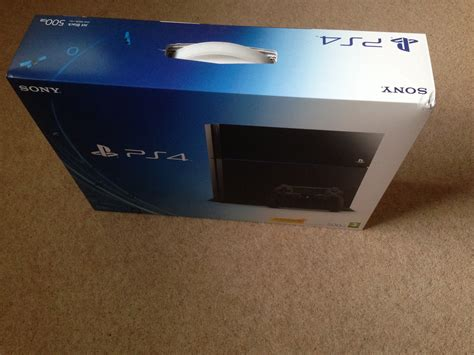 uk ps4 unboxing images ps4 home