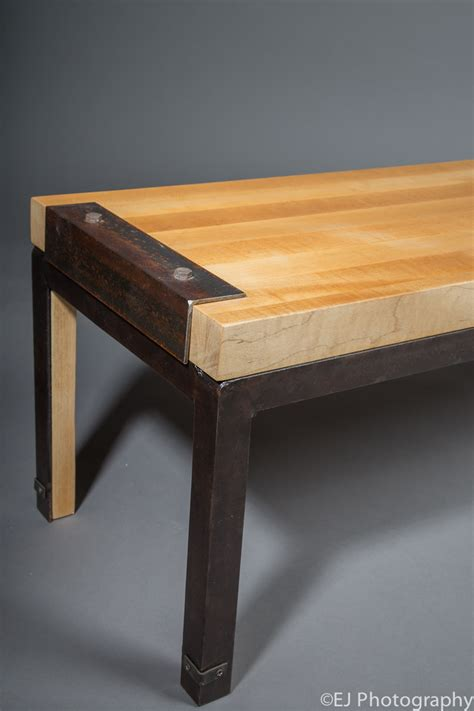 butcher block bench seat 555 custom designs butcher block table bench