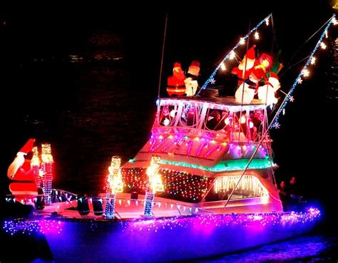 electric boat parade st petersburg fl 2015 holiday lighted boat parade