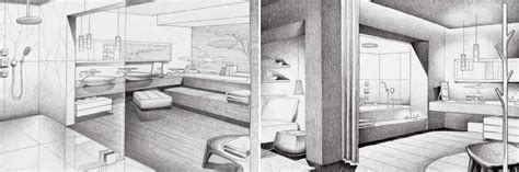 Drawing Room Decoration Ideas by Jean Marie Massaud Bathroom Design Sketch Interior