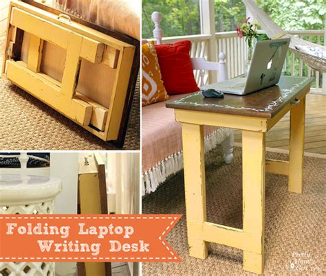 how to make a lap desk folding laptop writing tutorial dremelmaker