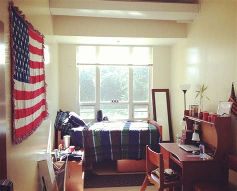 College Room by College Room With American Flag Display Home Design And Interior