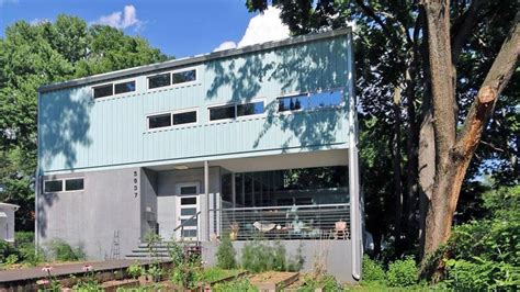 midwest marvel stylish shipping container home  kansas city realtorcom