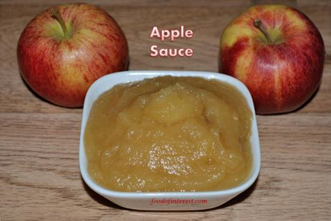 homemade apple sauce how to make apple sauce food of interest