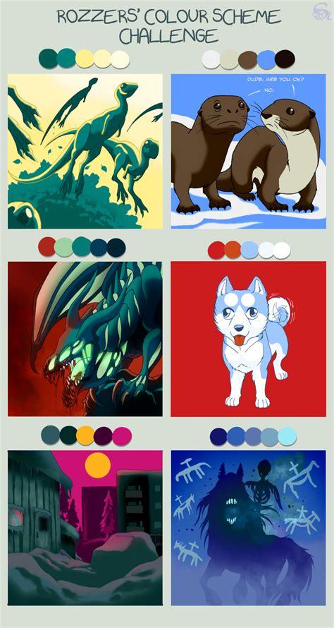 color themes deviantart color scheme challenge by isismasshiro on deviantart