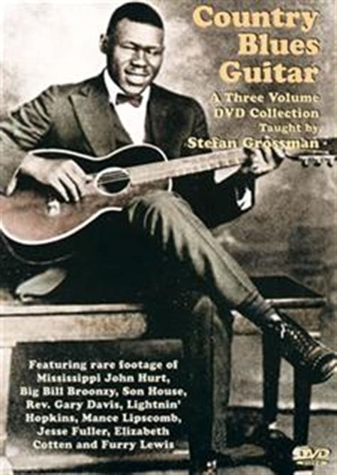 country blues guitar 3 volume dvd set 3 dvd set grossman