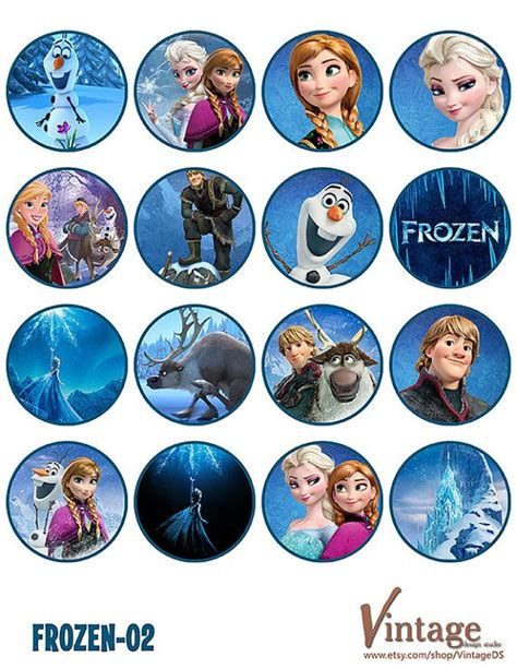 Disney Frozen Cupcake Decorations by Disney Frozen Birthday Cupcake Toppers Images 2 By
