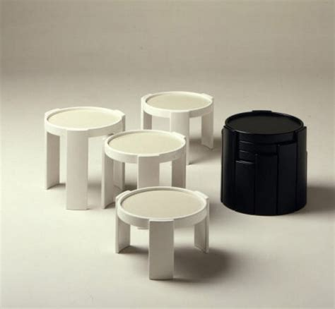 webmobili tavoli tavolo 780 783 cassina ani 60 quattro impilabili cilindro