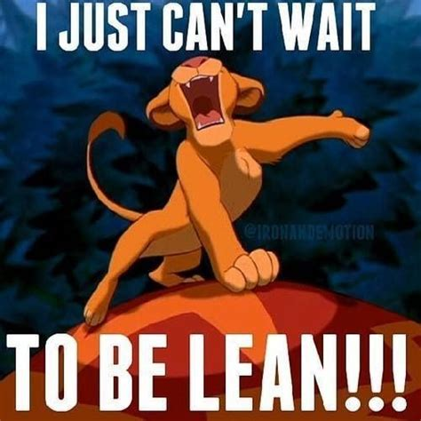 Can T Wait Meme - lol i just can t wait to be lean fitness health