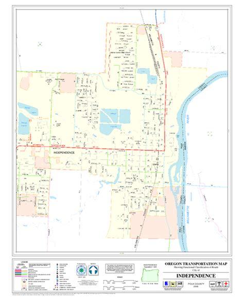 map of oregon pdf independence oregon road map independence oregon mappery