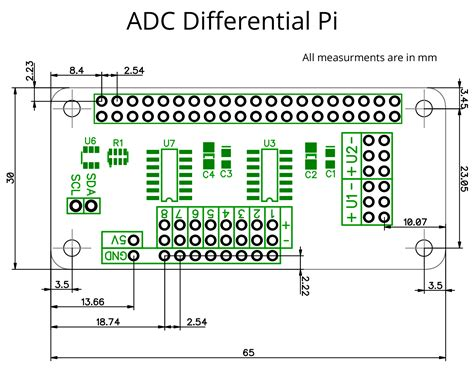 adc differential pi adc converter   raspberry pi