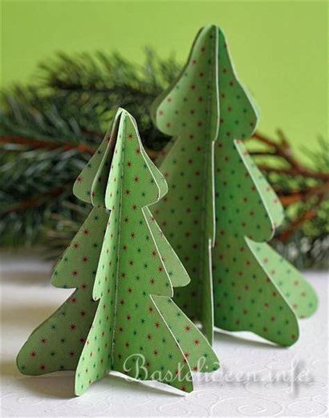 basteln mit papier weihnachtsbasteln