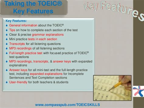 7 Tips On Well by Taking The Toeic 174