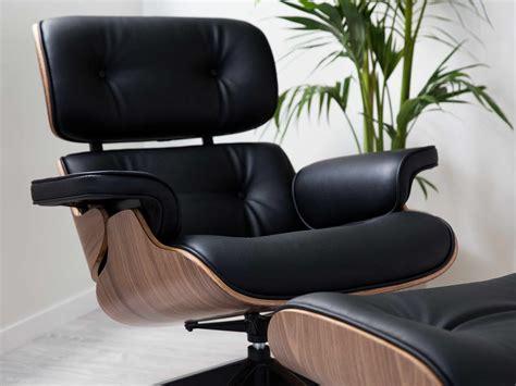 Eames Lounge Chair And Ottoman Replica Replica Eames Lounge Chair And Ottoman Black Chairs Seating