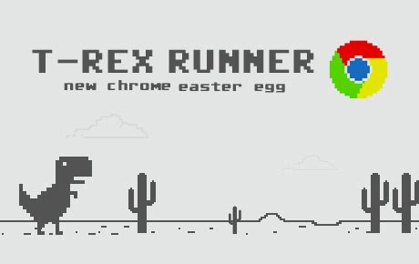 chrome dinosaur game how to access chrome s new hidden endless running game
