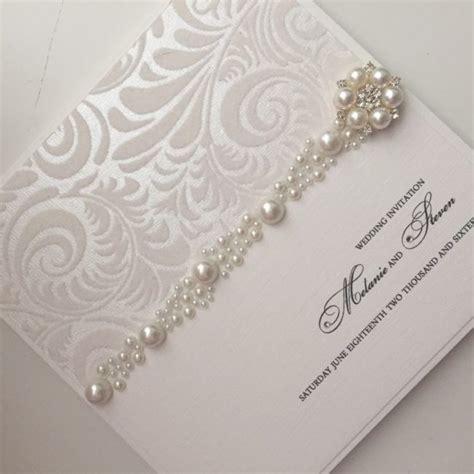 pearl sensation wedding cards handmade homemade wedding