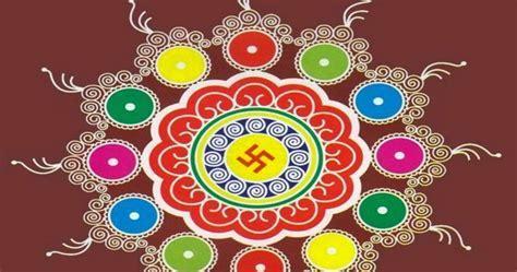 Diwali Rangoli New Designs Photo Images Download