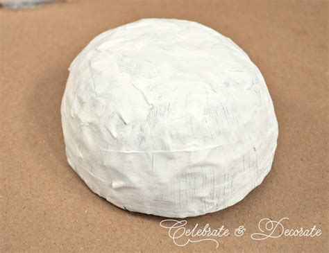 how to make smooth paper mache diy paper mache bowl