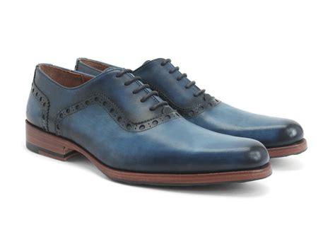 fluevog shoes fluevog shoes shop 837 granville blue brogued