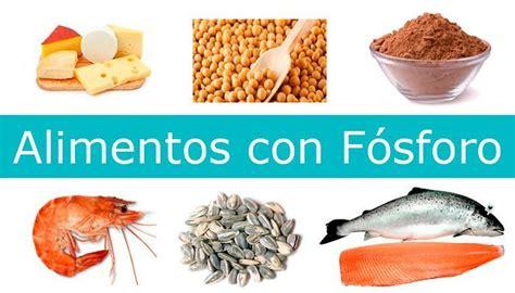 alimentos q tienen potasio alimentos ricos en f 211 sforo 191 qu 233 es alimentosricosen info