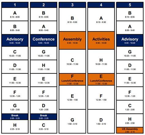 schedule photoshop world academic class schedule potomac school