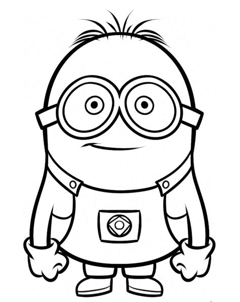 coloring pages minion stuart stuart the minion coloring pages gif coloring sheets