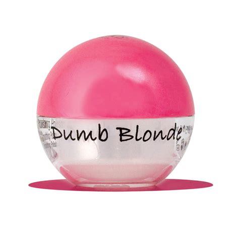 bed head dumb blonde tigi bed head dumb blonde smoothing stuff 50ml feelunique