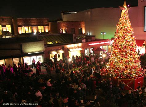 old pasadena one colorado tree lighting ceremony