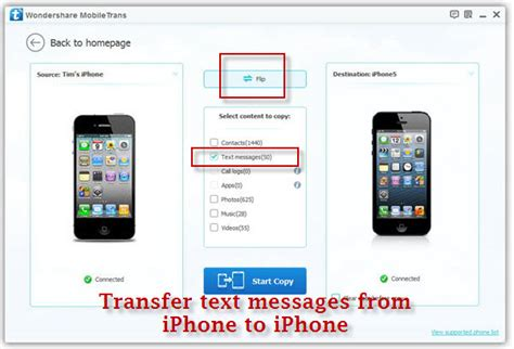 how to transfer from android to iphone transfer sms from iphone to iphone