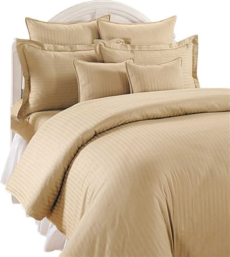 light beige duvet cover scala 1000tc stripe king size 3pc duvet set 100