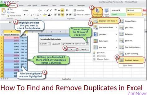 excel tutorial remove duplicates how to find and remove duplicates in excel