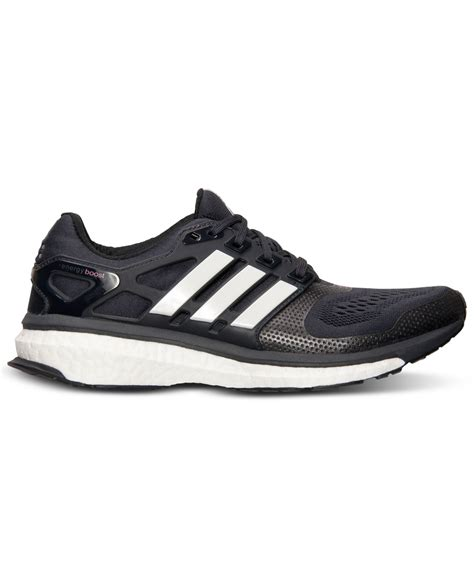 lyst adidas s energy boost 2 0 running sneakers from finish line in black