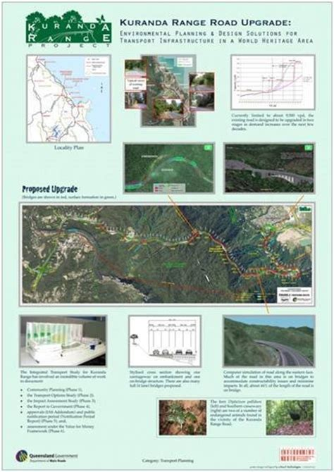 design criteria tmr kuranda range road upgrade cairns to kuranda far north