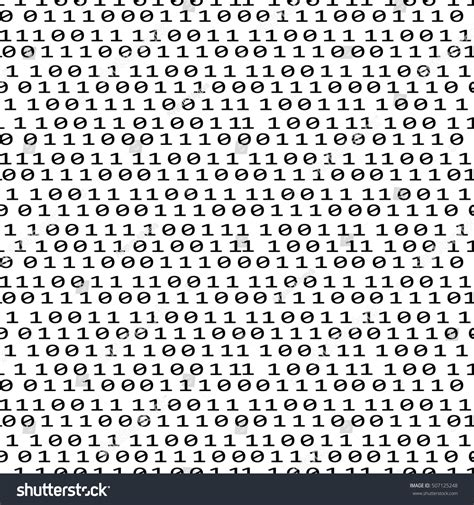 pattern matrix francais binary code seamless pattern with digits on screen