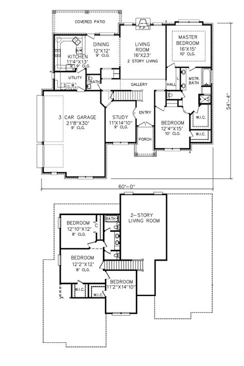 perry home plans floor plan 8186