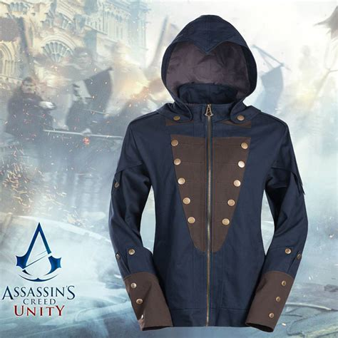 Hoodiesweater Assasin Creed Unity assassins creed unity arno victor dorian coat hoodies jacket sweatshirt plus