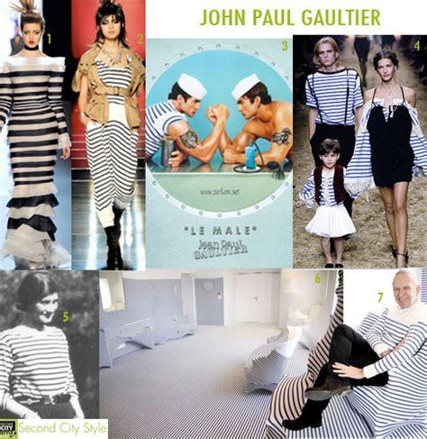 Haute Historian Drama Second City Style Fashion by Haute Historian Paul Gaultier Sailors Duds
