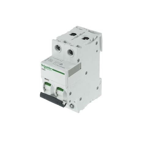 Mcb 63a Schneider schneider electric a9f53240 40a pole b type ic60h