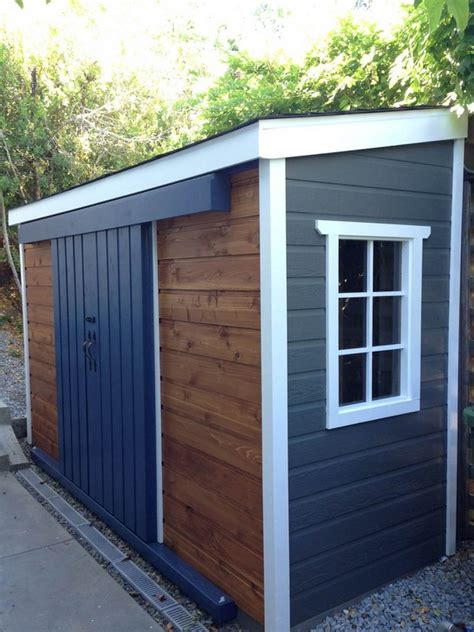 diy outdoor tanning 15 creative diy small storage shed projects for your