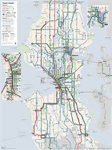Seattle Light Rail Map Pdf by The Seattle Transit Map And Guide