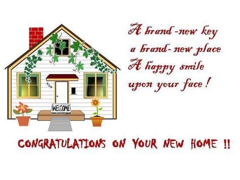 congratulations    house
