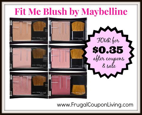 Blush On Maybelline Fit Me maybelline fit me blush sale four for 0 35 each at cvs after coupon
