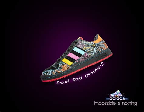 adidas ad 1 this ad breaks through the clutter as there are colors for one shoe and