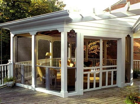 screened in porch designs bloombety screened in porch ideas with white themes