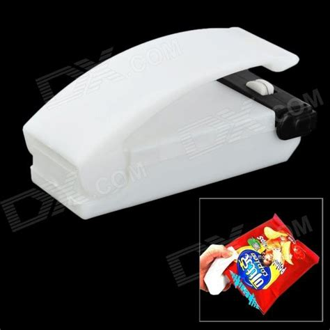 Promo Buy 1 Get 1 Mini Portable Sealer Perekat Plastik Wrap 2nd 1 mini portable handy plastic bag sealer white 2 aa free shipping dealextreme