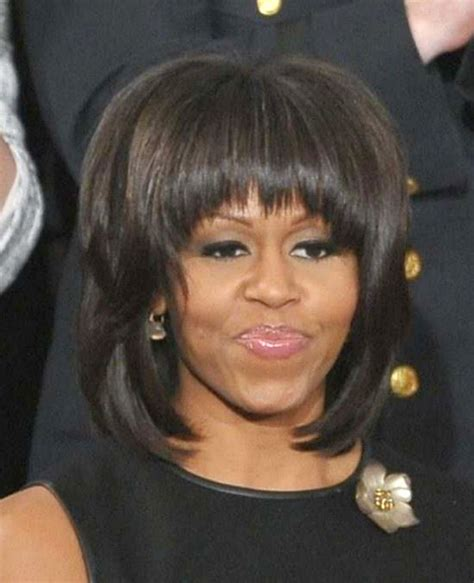 obama wife haircut michelle obama s hair at state of the union chic