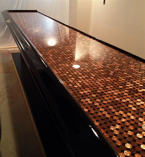 penny bar top bar top epoxy commercial grade bartop epoxy
