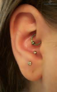 anti tragus and daith piercings